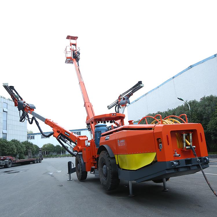 DW2-100轮胎式双臂凿岩钻机-江西鑫通机械