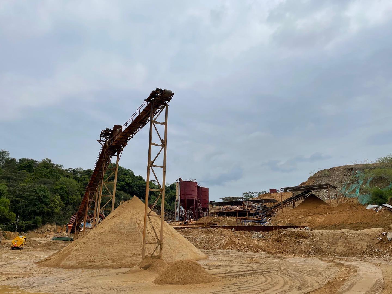 机制砂-建筑原料
