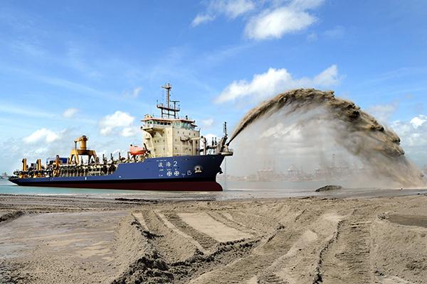 引导砂石价格回归理性,江西吉安投资8000万建设高标准生态砂场