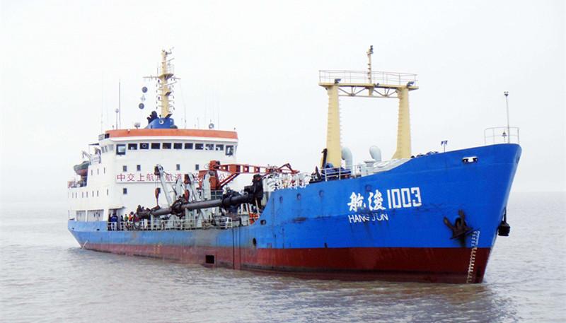 5000万吨,20亿!中国海警查获国内最大非法盗采海砂案