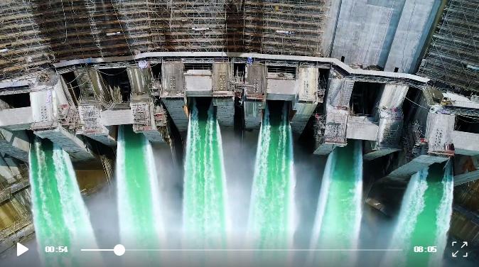 乌东德水电站创下多项世界第一