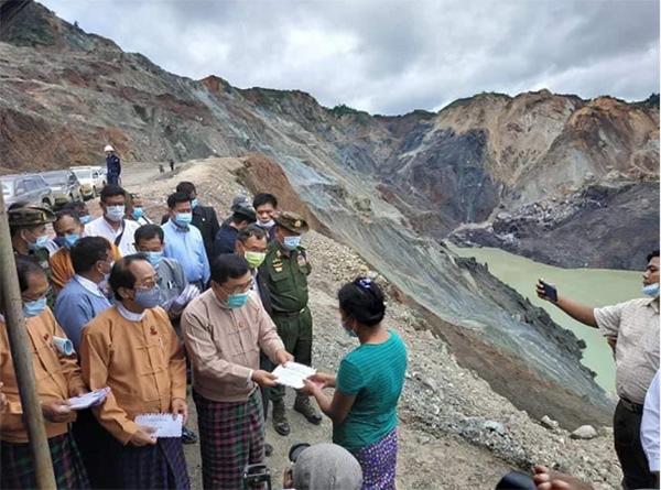 缅甸帕敢矿难已致174人遇难20人失踪,搜救工作结束