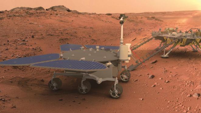 我国首辆火星车征名完成初评,哪吒、麒麟...在列!