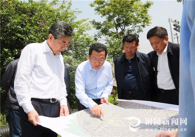 邓向阳赴铜实地督导铜陵市生态环境问题整改