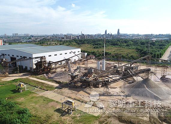 湖南衡阳河卵石制砂生产线