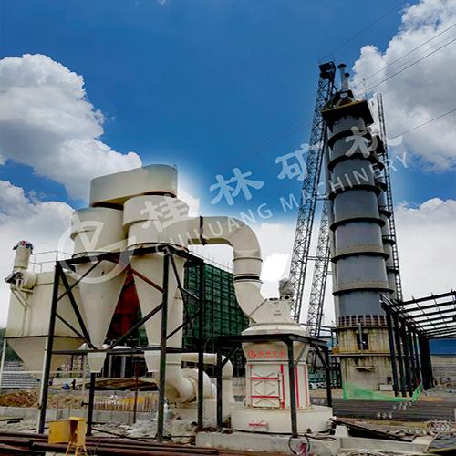 桂林矿山机械厂GK系列新型雷蒙磨粉机—混